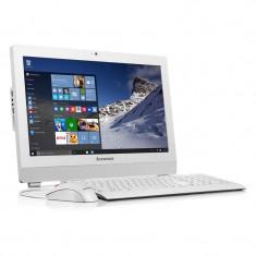 Sistem All in One Lenovo ThinkCentre S200Z 19.5 inch HD+ Intel Celeron N3050 4GB DDR3 500GB HDD White - Sisteme desktop cu monitor