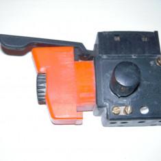 Comutator de pornire cu automentinere bormasini electrice si reglare a turatiei
