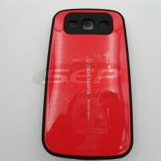 Toc plastic rigid FOCUS Samsung I9300 Galaxy S III / I9300I Galaxy S3 Neo ROSU - Husa Telefon, Samsung Galaxy S3