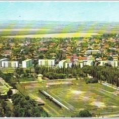 Bacau, Vedere generala, 1965 - Carte Postala Moldova dupa 1918, Circulata, Printata