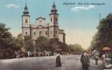 ORADEA ,  BISERICA   ROMANO - CATOLICA  , CIRCULATA  1916, Printata