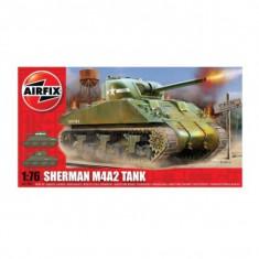 Kit Modelism Airfix 01303 Tanc Sherman M4a2 Tank Scara 1:76 - Set de constructie