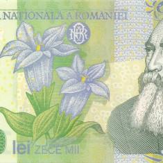 ROMANIA 10000 lei 2000 UNC GHIZARI - Bancnota romaneasca