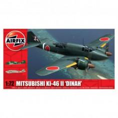 Kit Aeromodele Airfix 02016 Avion Mitsubishi Ki-46-Ii 'Dinah' Scara 1:72 - Set de constructie