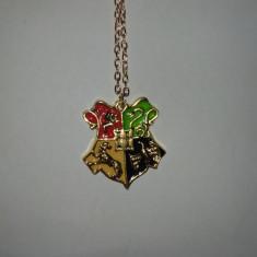 Colier - Harry Potter - Noua/Țiplă/Cadou/ Toate casele - Pandantiv fashion