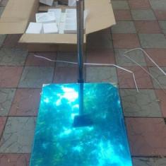 Cantar 1 tona (1000kg) Afisaj electronic,inox,60x80 cm