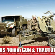 Airfix Bofors 40Mm Gun And Tractor - Set de constructie