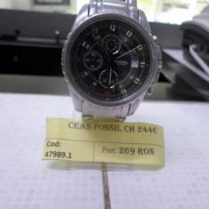 Ceas fossil ch2446 (lct) - Ceas barbatesc