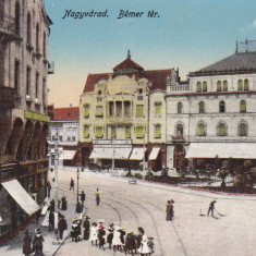 ORADEA, PIATA BEMER - Carte Postala Crisana dupa 1918, Necirculata, Printata