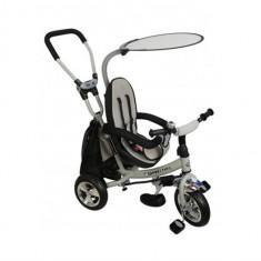 Tricicleta Copii Cu Scaun Reversibil Baby Mix Safari Ws611 Gri