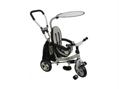 Tricicleta Copii Cu Scaun Reversibil Baby Mix Safari Ws611 Gri foto