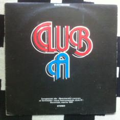 Club a disc vinyl muzica jazz progresiv rock hard blues lp compilatie 1981 - Muzica Rock electrecord, VINIL