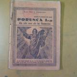 Porunca I din cele zece ale lui Dumnezeu N. Stoicescu scrisoarea II pastorala - Carte veche