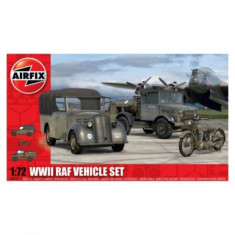 Kit Automodele Airfix 3311 Wwii Raf Vehicle Set Scara 1:72 - Set de constructie