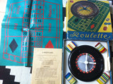 ruleta joc plastic vechi perioada comunista roulette DDR de colectie hobby rar