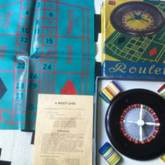 Ruleta joc plastic vechi perioada comunista roulette DDR RAR de coletie hobby - Joc board game