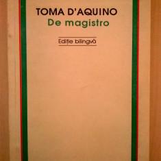 Toma D'Aquino - De magistro - Filosofie