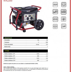 Generator monofazat 1800 W AVR