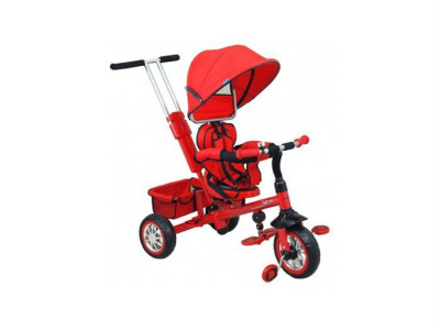 Tricicleta Copii Cu Scaun Reversibil Baby Mix Ur-Etb32-2 Rosu foto