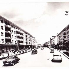 Bacau, Calea Marasesti, 1964 - Carte Postala Moldova dupa 1918, Circulata, Fotografie