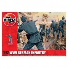 Kit Soldati Airfix 01726 Set 48 Soldati Wwi Infanterie Germana Scara 1:72 - Jocuri Seturi constructie