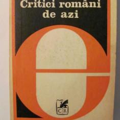 """AF - Gheorghe GRIGURCU """"Critici Romani de Azi"""""""
