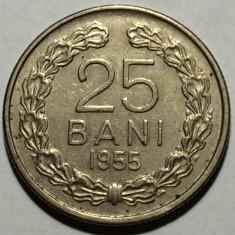 25 Bani 1955 Romania a UNC - Moneda Romania, Cupru-Nichel