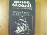 Brancusi masa tacerii simpozion de metafore antologie Ion Caraion Bucuresti 1970, Ion Caraion
