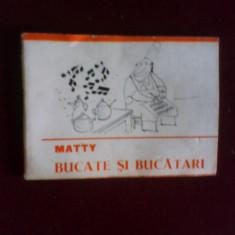 Matty Bucate si bucatari, editie princeps, caricaturi