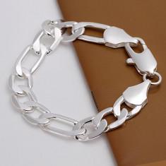 Bratara Unisex Lata Zale Mari Marcata Argint 925 Barbati si Femei - Bratara argint