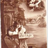 felicitare adresata prim-procurorului Petre Neatu din Craiova, aprox. 1909