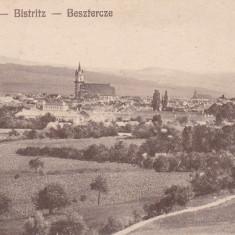 BISTRITA, VEDERE GENERALA - Carte Postala Transilvania dupa 1918, Necirculata, Printata