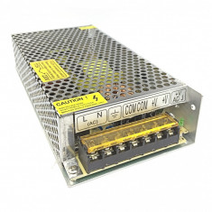 Sursa alimentare industriala in cutie de tabla perforata 12V 10A, cod:10100810