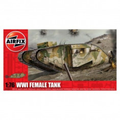 Kit Modelism Airfix 02337 Tanc Wwi Female Tank Scara 1:76 - Set de constructie