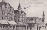 ORADEA , PIATA ST. LADISLAUS , HOTEL FEKETE, Necirculata, Printata