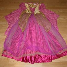 Costum carnaval serbare printesa regina pentru copii de 6-7 ani - Costum Halloween, Marime: Masura unica, Culoare: Din imagine