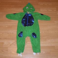 Costum carnaval serbare dinozaur pentru copii de 12 luni - Costum Halloween, Marime: Masura unica, Culoare: Din imagine