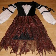Costum carnaval serbare pirata vrajitoare pentru adulti marime L - Costum Halloween, Marime: Masura unica, Culoare: Din imagine
