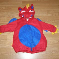 Costum carnaval serbare dragon pentru copii de 3-6 luni - Costum Halloween, Marime: Masura unica, Culoare: Din imagine