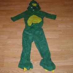 Costum carnaval serbare dinozaur pentru copii de 3-4 ani - Costum Halloween, Marime: Masura unica, Culoare: Din imagine