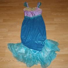 Costum carnaval serbare sirena ariel pentru copii de 7-8 ani - Costum Halloween, Marime: Masura unica, Culoare: Din imagine