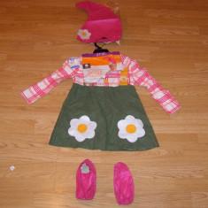 Costum carnaval serbare pitic gradinar pentru copii de 2-3 ani - Costum Halloween, Marime: Masura unica, Culoare: Din imagine