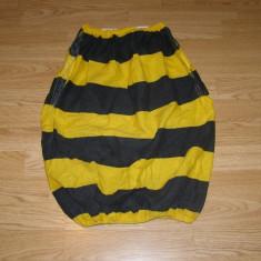 Costum carnaval serbare albina bondar pentru copii de 10-11-12 ani - Costum Halloween, Marime: Masura unica, Culoare: Din imagine