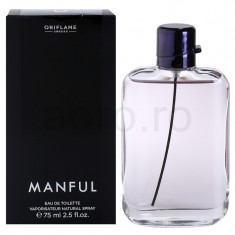 MANFULL ORIFLAME - Parfum barbati Oriflame, Apa de toaleta, 75 ml