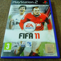 Fifa 11, PS2, original, alte sute de jocuri! - Jocuri PS2 Ea Sports, Sporturi, 3+, Multiplayer