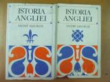 Istoria Angliei 2 volume Bucuresti 1970 Andre Maurois