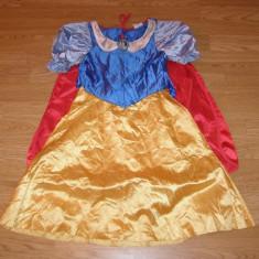 Costum carnaval serbare alba ca zapada pentru copii de 5-6 ani - Costum Halloween, Marime: Masura unica, Culoare: Din imagine