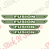Set Praguri Ford Fusion-Model  1_Tuning Auto_Cod: PRAG-019
