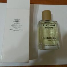 PARFUM TESTER CHANEL PLATINUM EGOISTE -- 100 ML ---SUPER PRET, SUPER CAL! - Parfum barbati Chanel, Altul