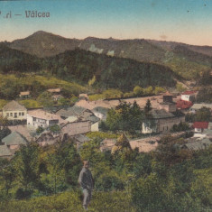 OCNELE MARI VALCEA, VEDERE GENERALA, CIRCULATA 1928 - Carte Postala Oltenia dupa 1918, Ramnicu Valcea, Printata